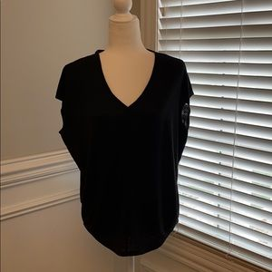 NWT White House Black Market Loose Fit Tee Sz S